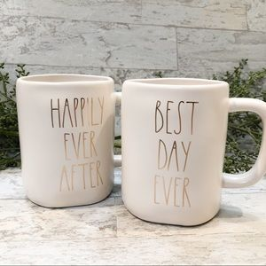 Rae Dunn Happily Ever After & Best Day Ever